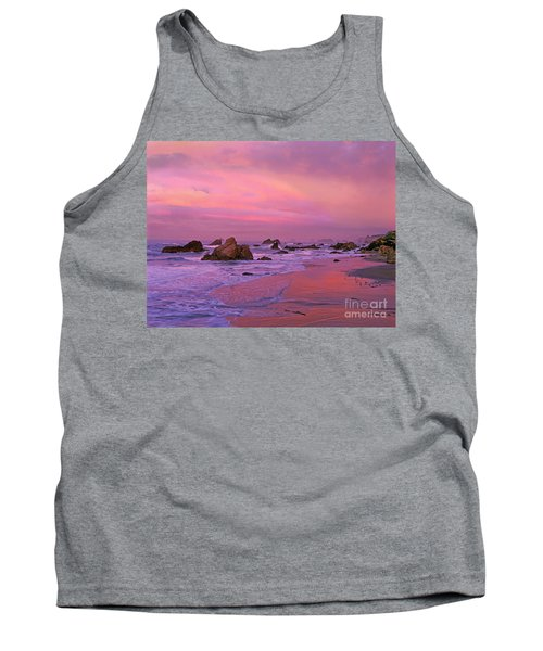 Tank Top featuring the photograph Sunrise On Sea Stacks Harris Sb Oregon by Dave Welling