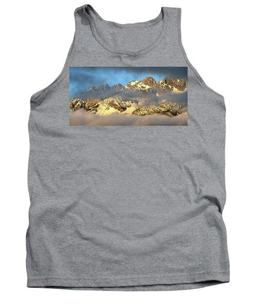 Sunrise On Thompson Peak Tank Top by Ed  Riche