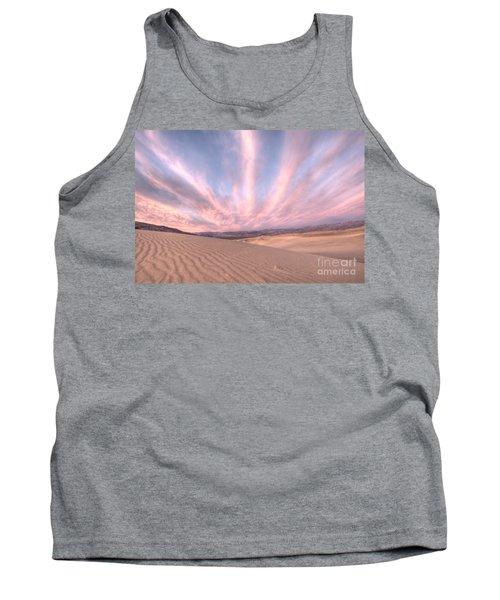 Sunrise Over Sand Dunes Tank Top
