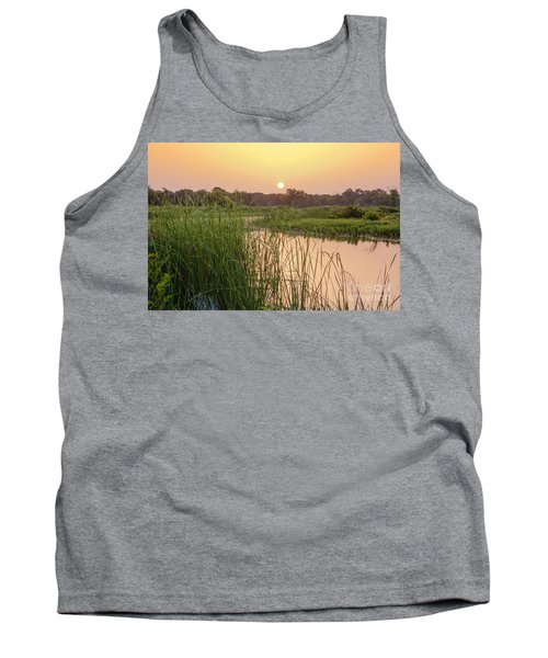 Sunrise Over The Marsh Tank Top