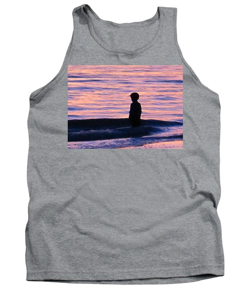 Sunset Art - Contemplation Tank Top