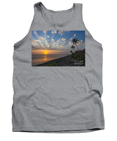 Sunset At Alibag, Alibag, 2007 Tank Top