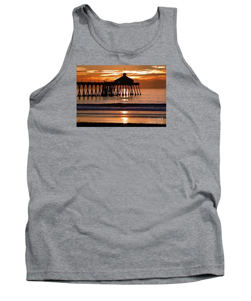 Sunset At Ib Pier Tank Top