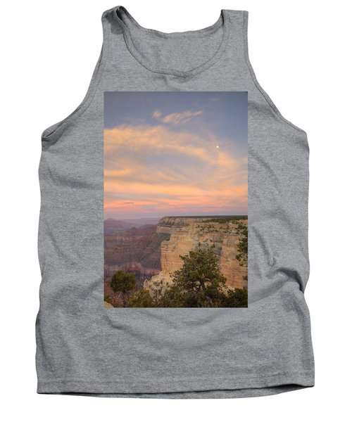 Tank Top featuring the photograph Sunset At Powell Point by Alan Vance Ley
