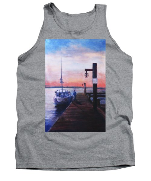 Sunset At Rocky Point Tank Top
