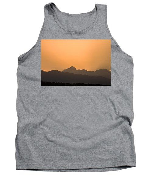 Sunset Behind The Julian Alps Tank Top