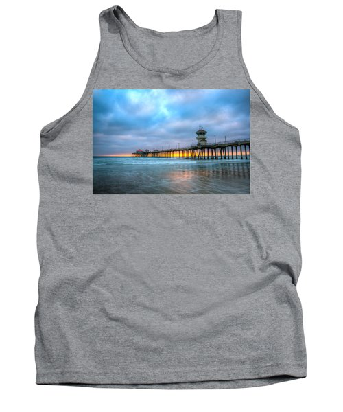 Sunset Beneath The Pier Tank Top