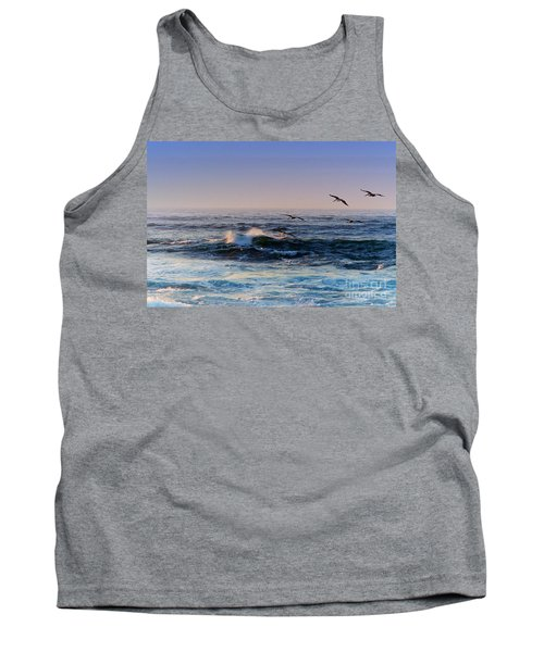 Sunset Fly Tank Top by Kathy Bassett