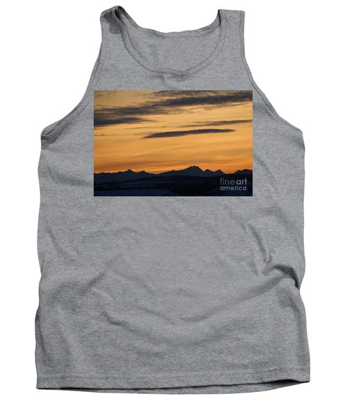 Sunset From 567 Tank Top