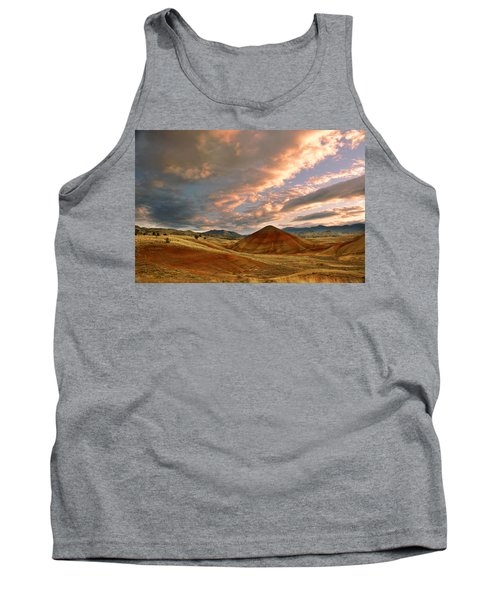Tank Top featuring the photograph Sunset Hill by Sonya Lang