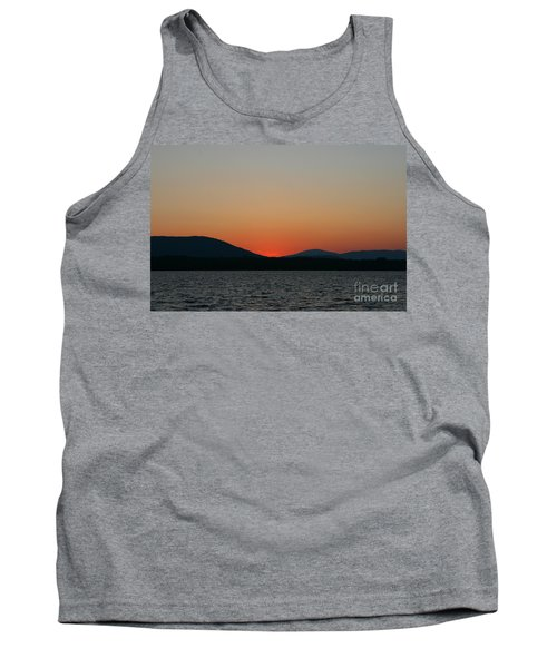 Sunset Lines Of Lake Umbagog  Tank Top
