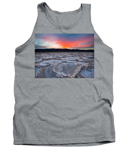 Sunset Over Badwater Tank Top