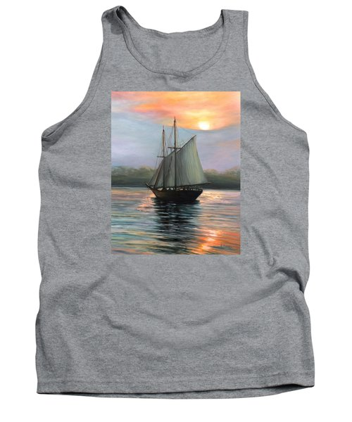 Sunset Sails Tank Top by Eileen Patten Oliver