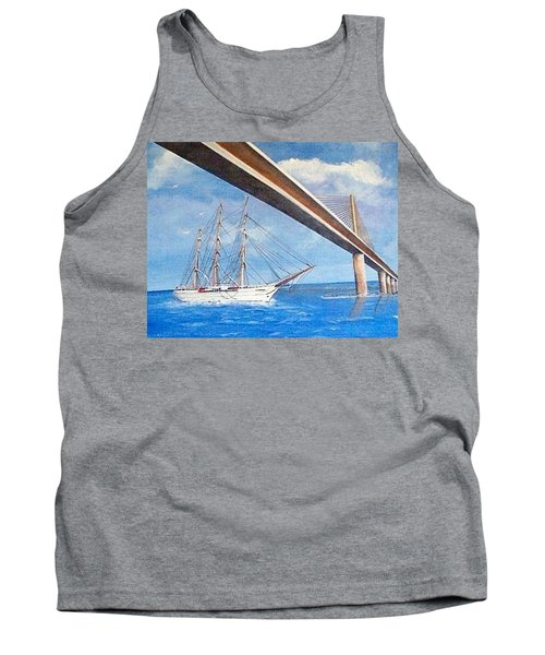 Sunshine Skyway Bridge  Tank Top