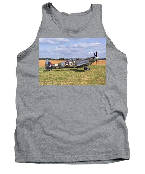 Supermarine Spitfire T9 Tank Top by Paul Gulliver