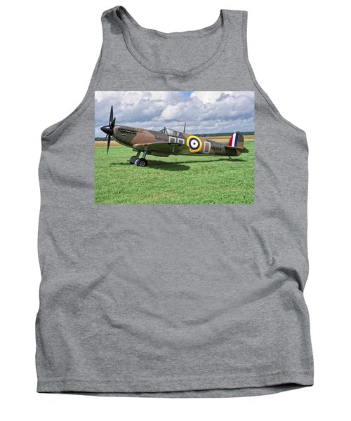 Supermarine Spitifire 1a Tank Top by Paul Gulliver