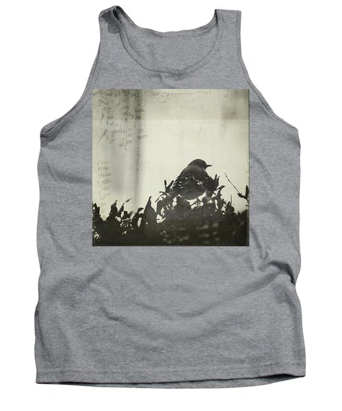 Tank Top featuring the photograph Sweet Disposition by Trish Mistric