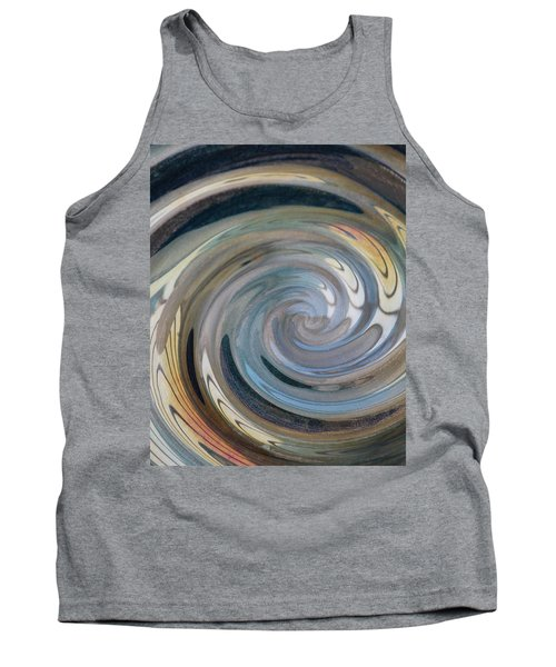 Tank Top featuring the photograph Swirl by Diane Alexander