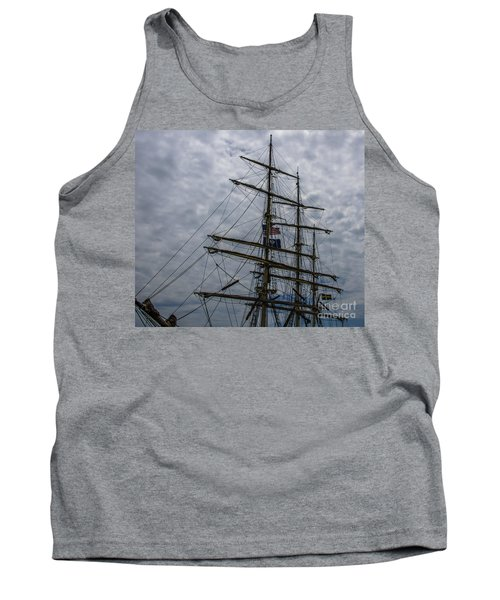 Sailing The Clouds Tank Top by Dale Powell