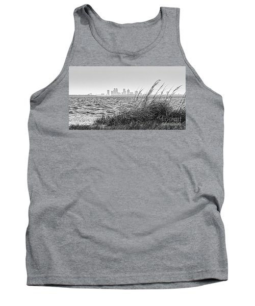 Tampa Across The Bay Tank Top by Marvin Spates