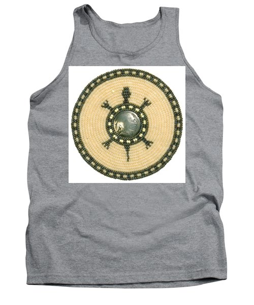 Tan Indian Turtle Tank Top