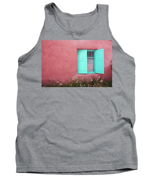 Tank Top featuring the photograph Taos Window I by Lanita Williams