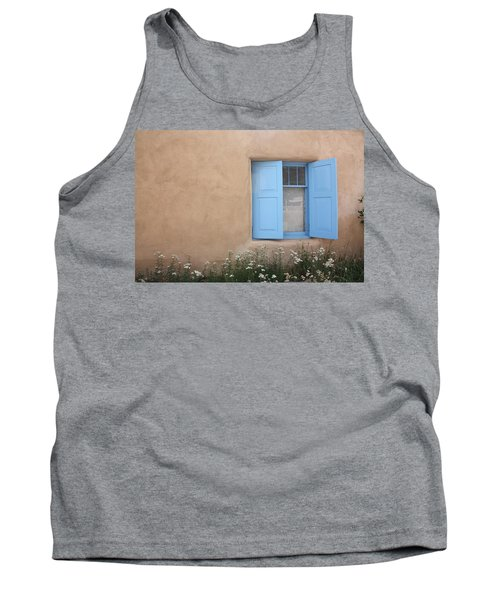 Tank Top featuring the photograph Taos Window Vi by Lanita Williams