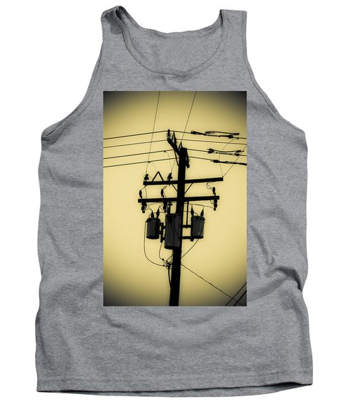 Telephone Pole 3 Tank Top