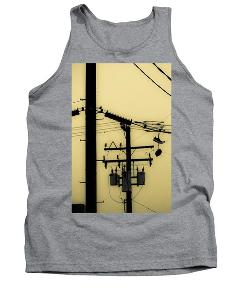 Telephone Pole And Sneakers 5 Tank Top