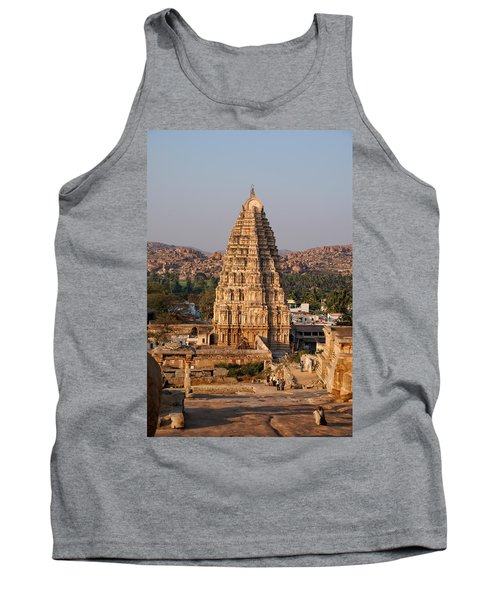 Temple At Hampi Tank Top