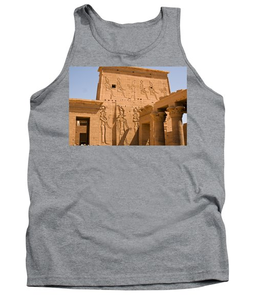 Temple Exterior Tank Top by James Gay