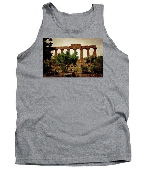 Temple Of Juno Lacinia In Agrigento Tank Top by RicardMN Photography