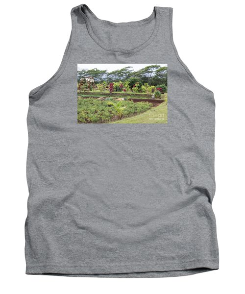 Tank Top featuring the photograph Tending The Land by Suzanne Luft