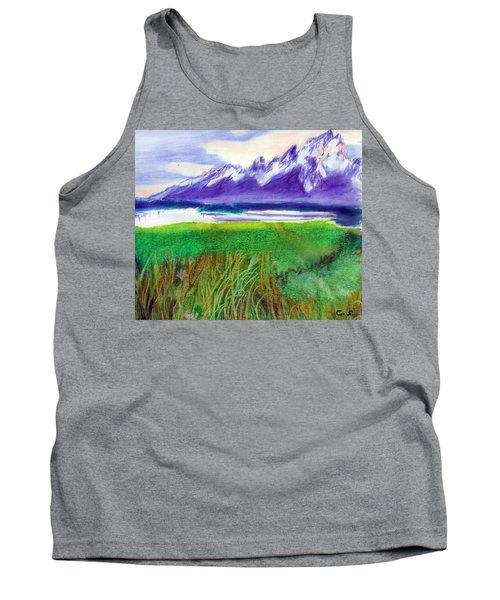 Teton View Tank Top