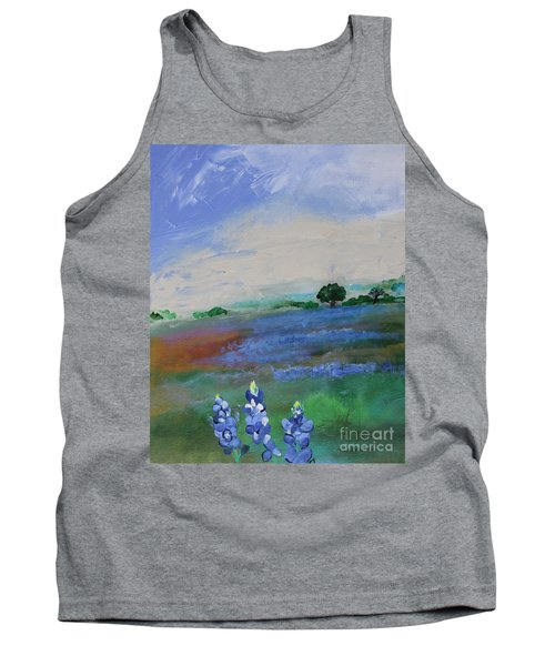 Texas Bluebonnets Tank Top
