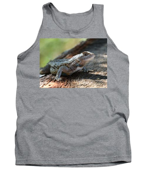 Texas Lizard Tank Top
