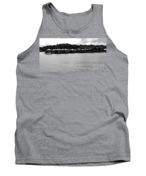 Tank Top featuring the photograph Thai Village by Andrea Anderegg