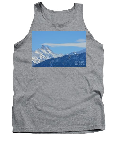 The Alps In Azure Tank Top