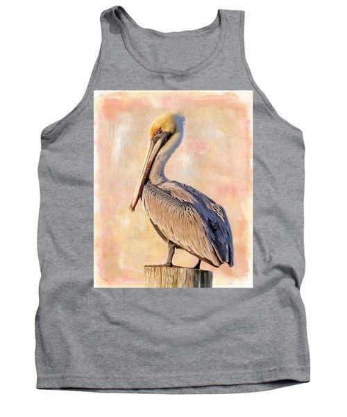 Birds - The Artful Pelican Tank Top