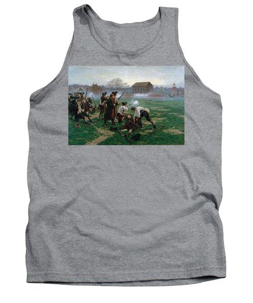 The Battle Of Lexington, 19th April 1775 Tank Top