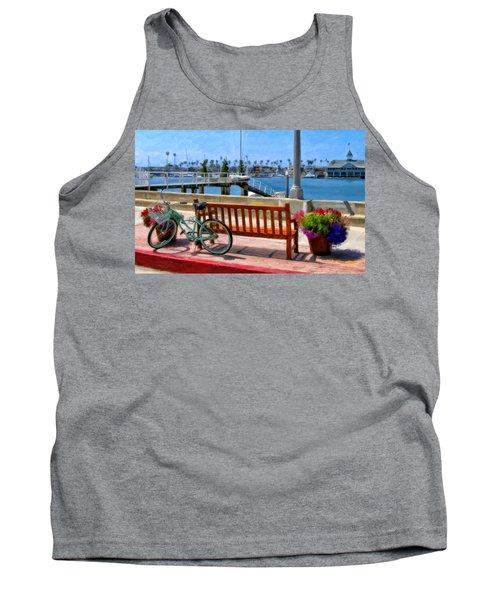 The Beach Cruiser Tank Top by Michael Pickett