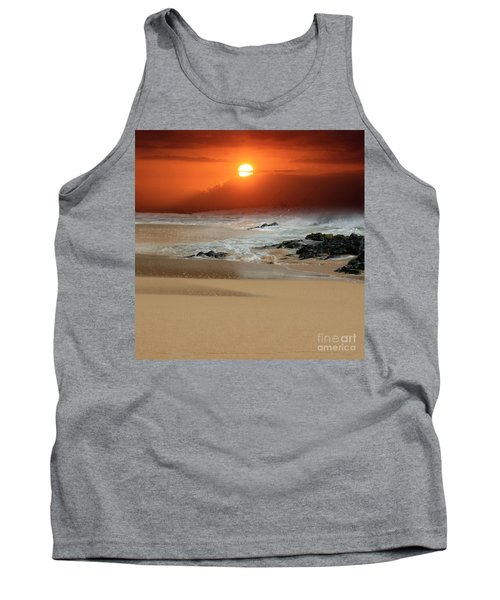 The Birth Of The Island Tank Top by Sharon Mau