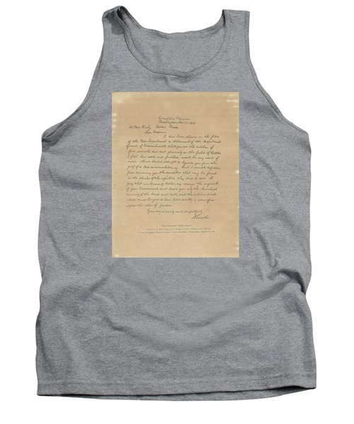 The Bixby Letter Tank Top by Celestial Images