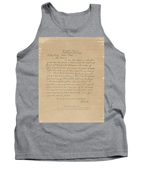The Bixby Letter Tank Top
