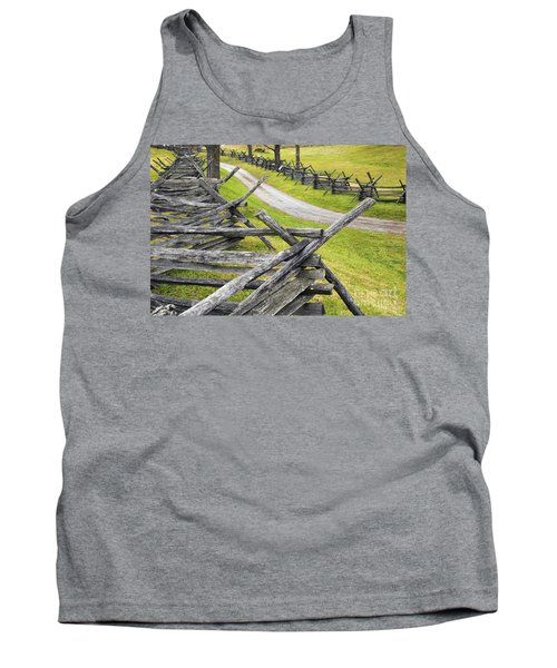 The Bloody Lane At Antietam Tank Top
