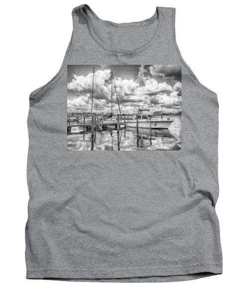 Tank Top featuring the photograph The Boat by Howard Salmon