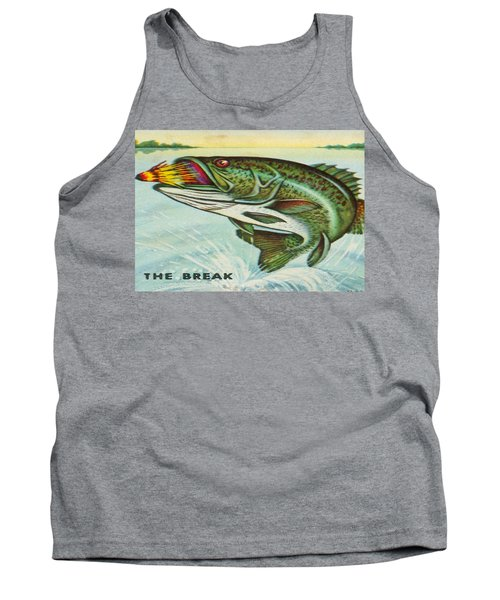 Tank Top featuring the digital art The Break by Cathy Anderson