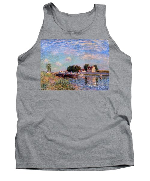 The Canal At Saint-mammes Tank Top