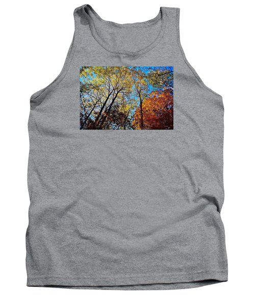 Tank Top featuring the photograph The Canopy by Daniel Thompson