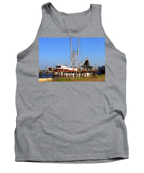 Tank Top featuring the photograph The Captain Hw by Gordon Elwell